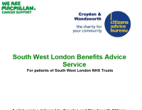Citizens Advice Wandsworth the independent citizens advice bureau for people who live in the London borough of Wandsworth. Image for pdf of our South West Benefits Service annual report January to December 2014